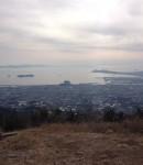 五井山に登る。