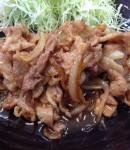 岡崎市若松東の潔いしょうが焼きの店。