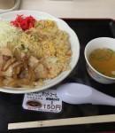 東名高速、赤塚PAの焼肉チャーハン